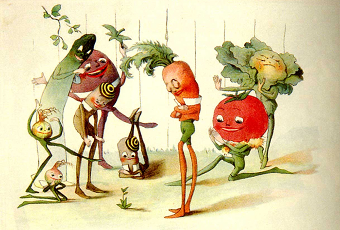 """The Vege-men's Revenge"" by Florence Upton, 1897"